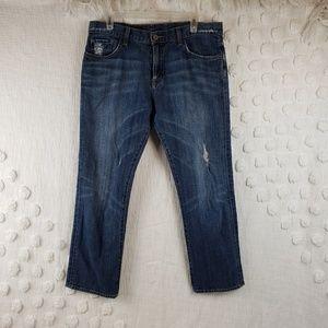 Lucky Brand Boyfriend Crop Jeans size 6 / 28